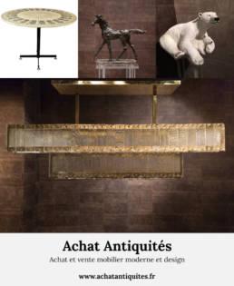 Achat et vente mobilier moderne et design